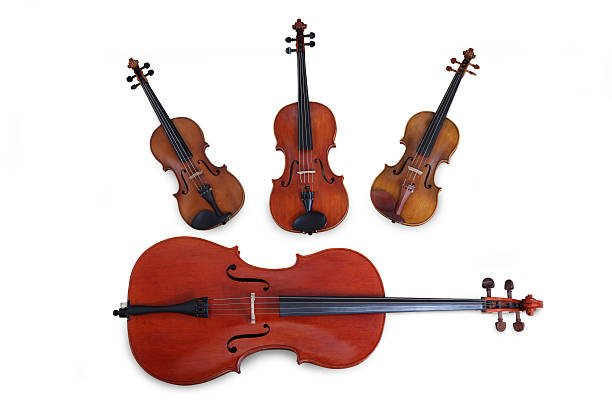 What instruments are in a string quartet?