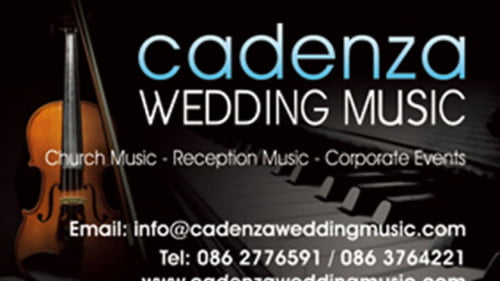 Cadenza Wedding Music Featured Photo
