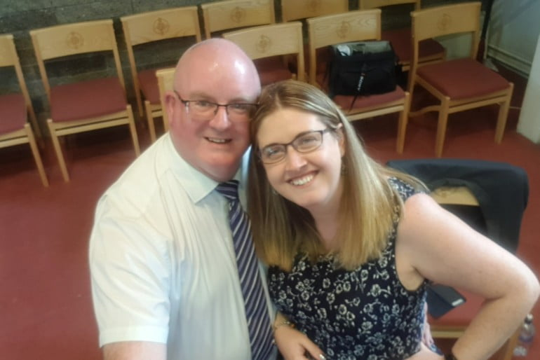 Colm and Claire Photo 2 | ChurchMusic.ie