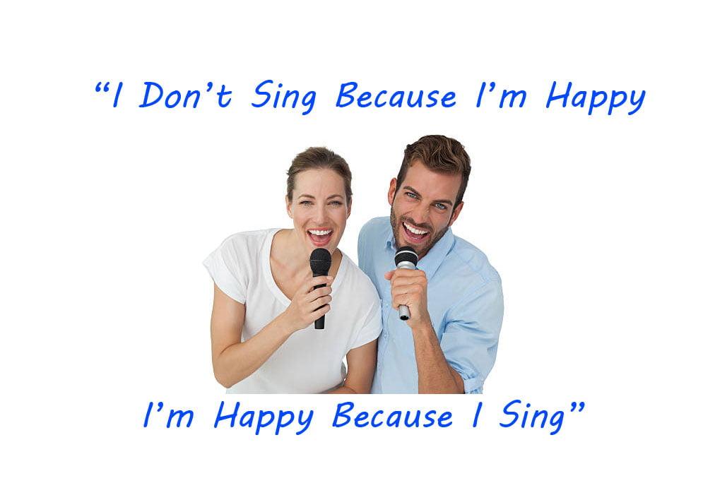 I'm Happy Because I Sing [William James]