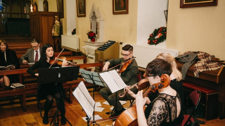 Inishlacken Strings Featured Photo | ChurchMusic.ie