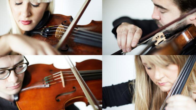 The Delta String Quartet Featured Photo   ChurchMusic.ie