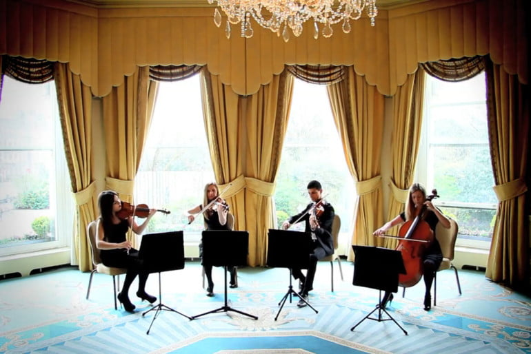 The Avoca String Quartet Photo 2 | ChurchMusic.ie