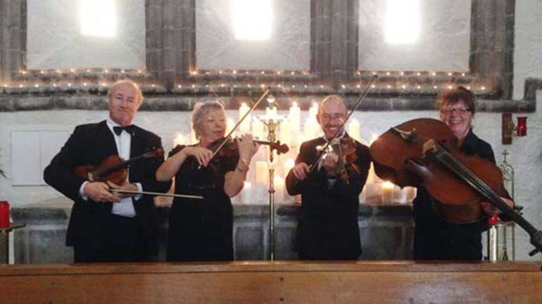 The Corrib String Quartet Featured Photo | ChurchMusic.ie
