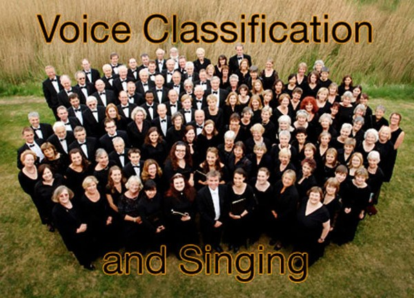 Choir dressed in black | Voice Classification | ChurchMusic.ie
