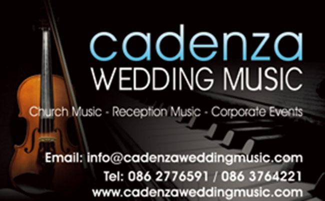 Cadenza Wedding Music | Piano, Violin & Voice | ChurchMusic.ie