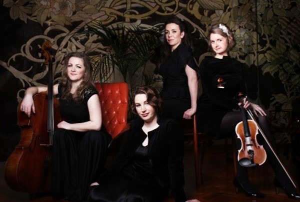 The Astral String Quartet   ChurchMusic.ie