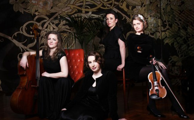 The Astral String Quartet | ChurchMusic.ie