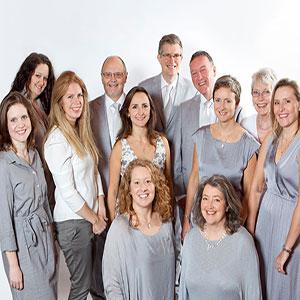 Choir dressed in grey | ChurchMusic.ie