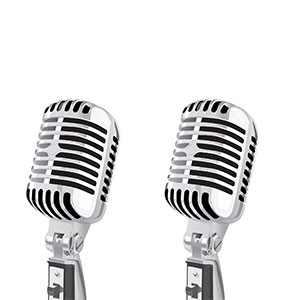 Two classic Microphones | ChurchMusic.ie